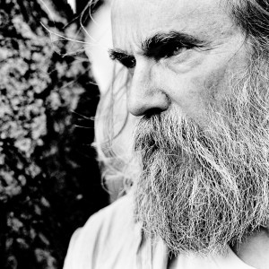 Face of Lubomyr Melnyk looking to the left.